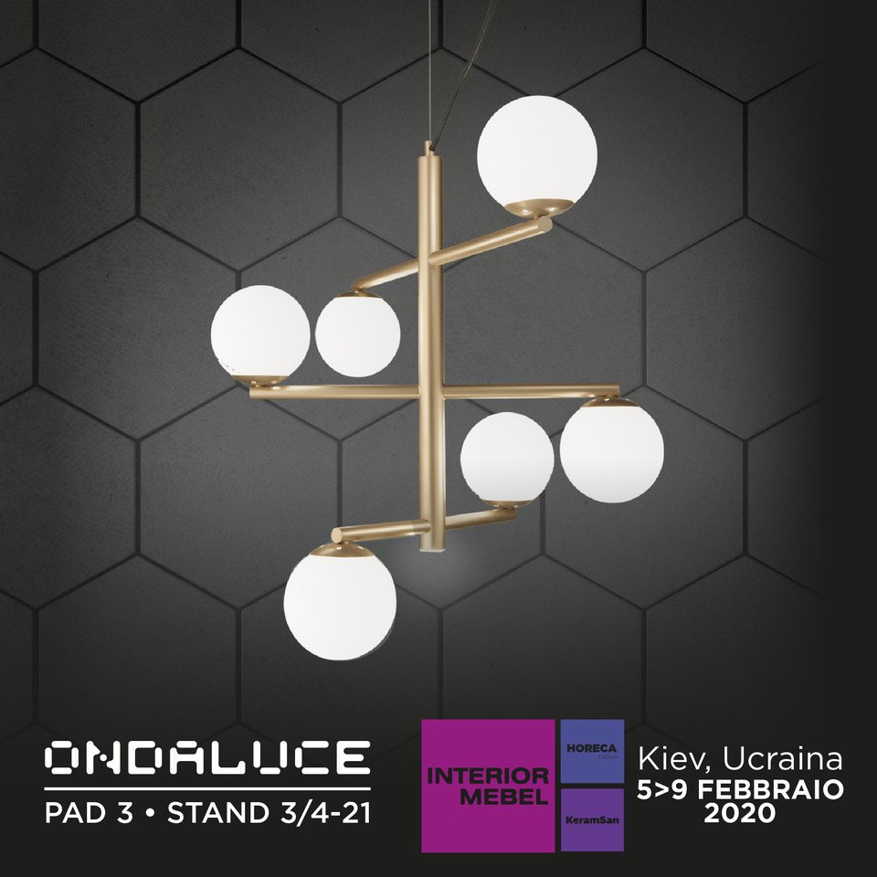"Ondaluce presente all' ""Interior Mebel"" di Kiev"