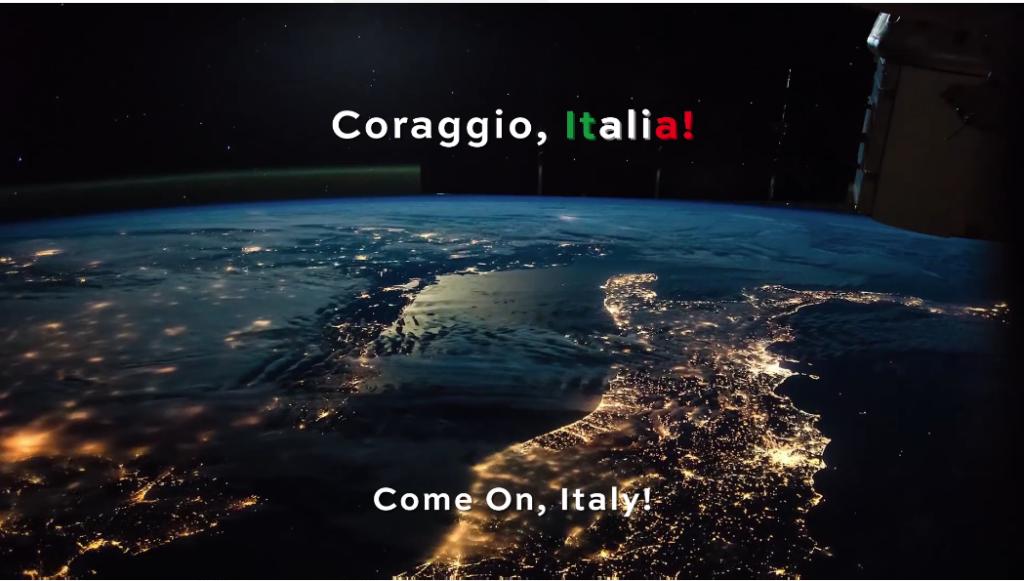 Insieme vinceremo il buio: coraggio, Italia!